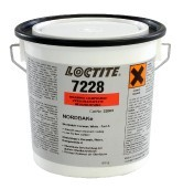 Loctite 7228-Nordbak Brushable Ceramic White/ 1kg